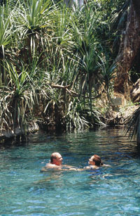 Mataranka Thermal Pool.